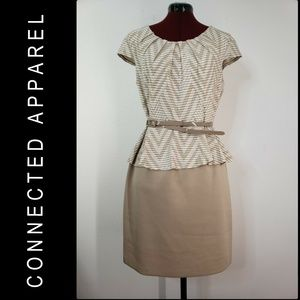 Connected Apparel Woman Stretch Dress Size 12P